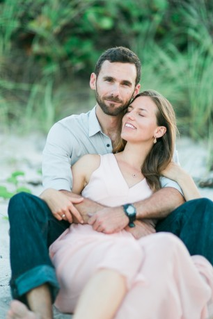 coral cove engagement photography