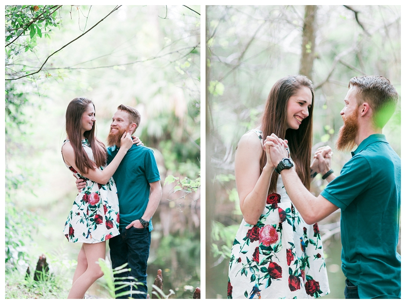 riverbend park engagement photos