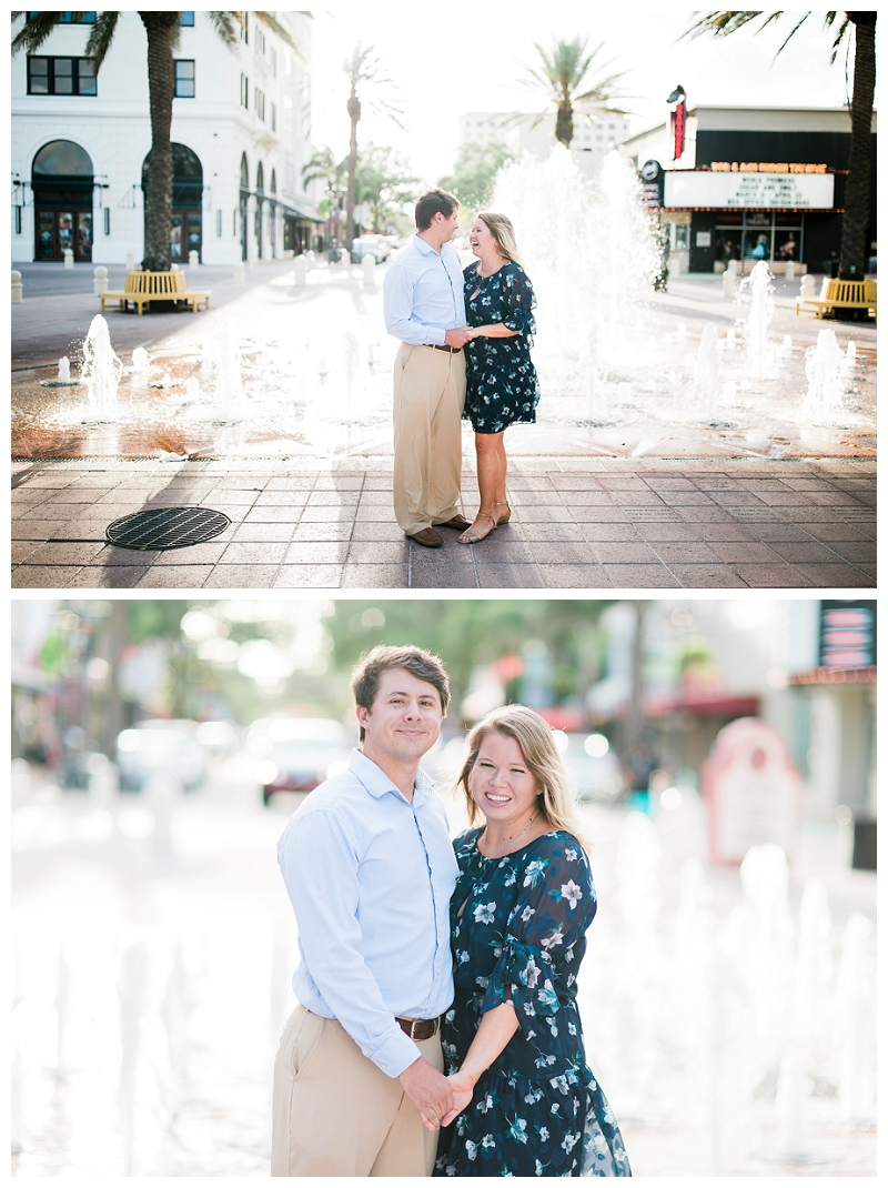 clematis engagement photography