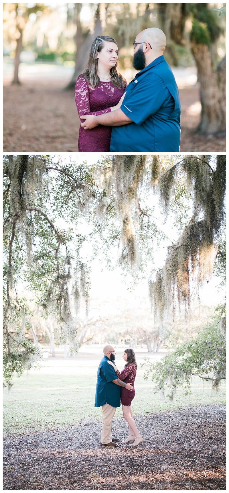 riverside park engagement photography
